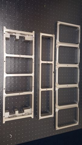 Aluminium Machined Frames