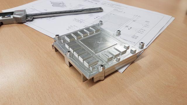 HE30 Aluminium Heat Sink 1
