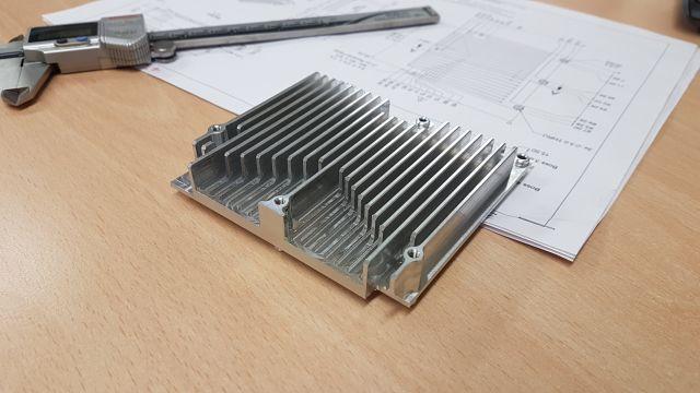 HE30 Aluminium Heat Sink 3