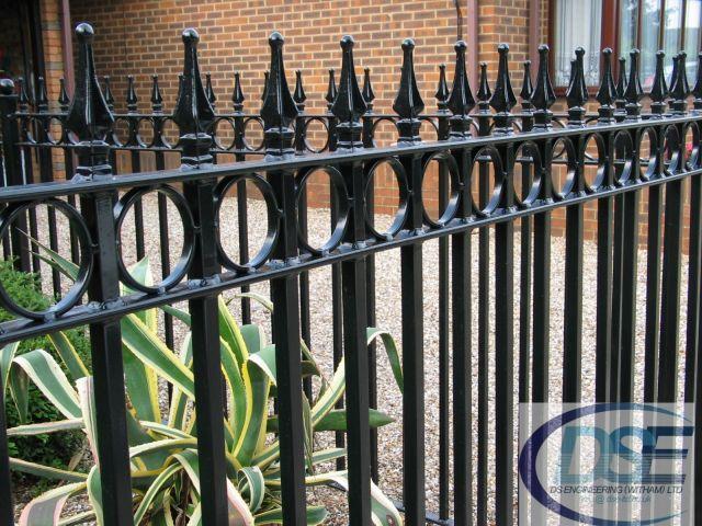 Iron Railing Gates 1