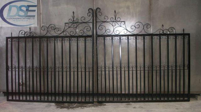 Iron Railing Gates 4