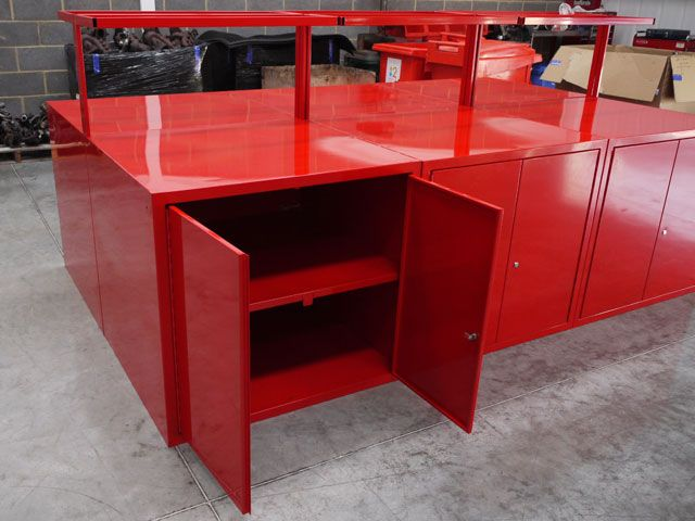 Mild Steel Cabinet Work Station 1