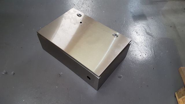 Stainless Steel Enclosure 1