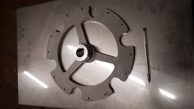 Stainless Steel Location Wheel 1